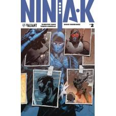 NINJA-K #2 CVR A HAIRSINE