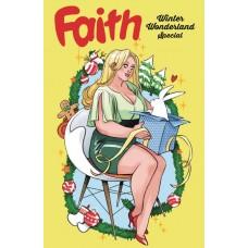 FAITHS WINTER WONDERLAND SPECIAL #1 CVR A SAUVAGE