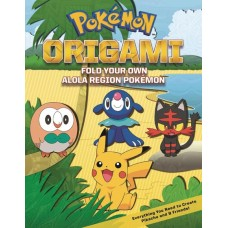 POKEMON ORIGAMI SC FOLD YOUR OWN ALOLA REGION POKEMON