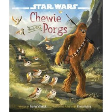 STAR WARS LAST JEDI CHEWIE AND THE PORGS HC