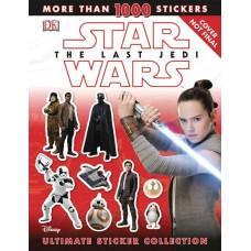 STAR WARS LAST JEDI ULTIMATE STICKER COLLECTION SC