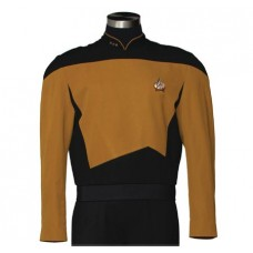 STAR TREK TNG SERVICES MUSTARD TUNIC REPLICA LG (Net)