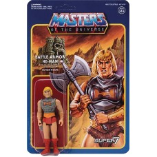 MOTU 3.75IN REACTION FIGURE WAVE 3 BATTLE ARMOR HE-MAN (Net)