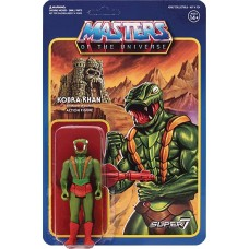 MOTU 3.75IN REACTION FIGURE WAVE 3 KOBRA KHAN (Net)