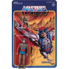 MOTU 3.75IN REACTION FIGURE WAVE 3 STRATOS (Net)