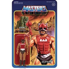 MOTU 3.75IN REACTION FIGURE WAVE 3 ZODAC (Net)