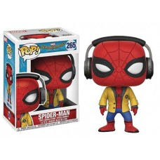 POP SPIDER-MAN HOMECOMING SPIDER-MAN W/HEADPHONE VIN FIG
