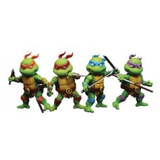 TMNT MINI SERIES MHMF-302 4PK AF SET