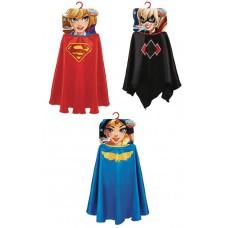 DC SUPERHERO GIRLS CAPE ASST (Net)