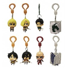 ATTACK ON TITAN HANGER FIGURES 24PC BMB DS