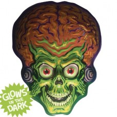 GHOULSVILLE MARS ATTACKS MARTIAN VAC-TASTIC PLASTIC MASK