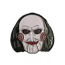SAW BILLY PUPPET ENAMEL LAPEL PIN