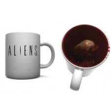 ALIEN BURST 3D MOLDED MUG