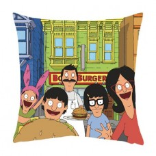 BOBS BURGERS BELCHER FAMILY PILLOW