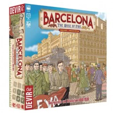 BARCELONA ROSE OF FIRE BOARD GAME