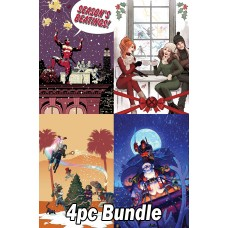 MARVEL HOLIDAY RELATED ISSUES 4PC BUNDLE