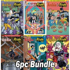 ARCHIE MEETS BATMAN 66 #5 CVR A-F 6PC BUNDLE