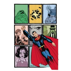 SUPERMAN KRYPTONITE DELUXE ED HC