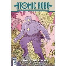 ATOMIC ROBO & DAWN OF NEW ERA #2 (OF 5) CVR A WEGENER