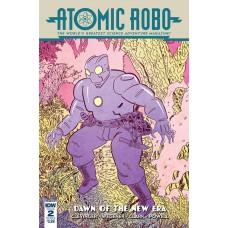 ATOMIC ROBO & DAWN OF NEW ERA #2 (OF 5) CVR B BAKER