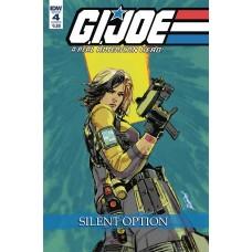 GI JOE A REAL AMERICAN HERO SILENT OPTION #4 (OF 4) CVR B LO