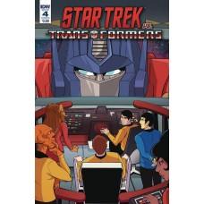 STAR TREK VS TRANSFORMERS #4 (OF 4) CVR B TRAMONTANO