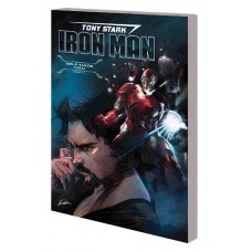 TONY STARK IRON MAN TP VOL 01 SELF MADE MAN