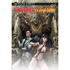 VAMPIRELLA REANIMATOR #1 ATLAS BUNN SGN ED