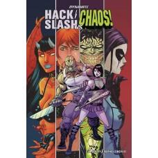 HACK SLASH VS CHAOS #1 CVR A SEELEY (MR)