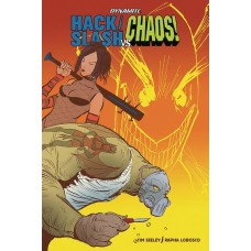 HACK SLASH VS CHAOS #1 CVR C STRAHM
