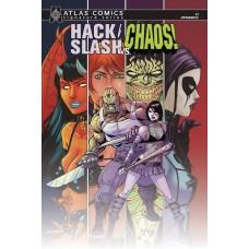 HACK SLASH VS CHAOS #1 ATLAS SEELEY SGN ED