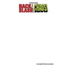 HACK SLASH VS CHAOS #1 BLANK AUTHENTIX ED