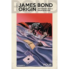 JAMES BOND ORIGIN #4 CVR D MOUSTAFA