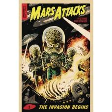 MARS ATTACKS #3 CVR A FRANCAVILLA