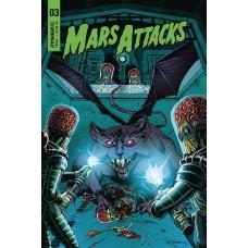 MARS ATTACKS #3 CVR C MARRON