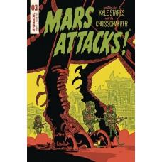 MARS ATTACKS #3 CVR E SCHWEIZER SUB VARIANT