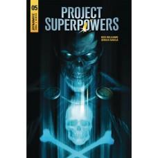 PROJECT SUPERPOWERS #5 CVR A MATTINA