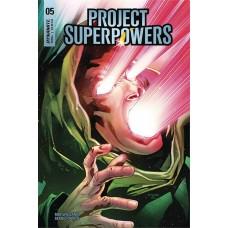 PROJECT SUPERPOWERS #5 CVR E SEGOVIA