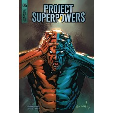 PROJECT SUPERPOWERS #5 CVR F DAVILA