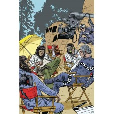 PLANET OF APES SIMIAN AGE #1 ALLRED VARIANT
