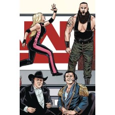 WWE #23 SCHOONOVER RAW CONNECTING VARIANT