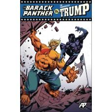 BARACK PANTHER VS TREMENDOUS TRUMP #1 BLUE VICTORY