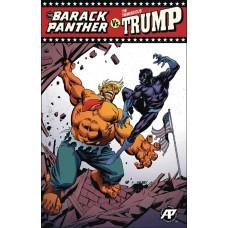 BARACK PANTHER VS TREMENDOUS TRUMP #1 RED TRIUMPH