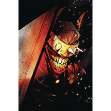 DF BATMAN WHO LAUGHS #1 SGN SNYDER PLUS ONE