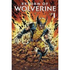 DF RETURN OF WOLVERINE #1 SILVER SGN ROMITA SR