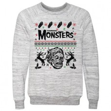 UGLY CHRISTMAS SWEATER GREY MED