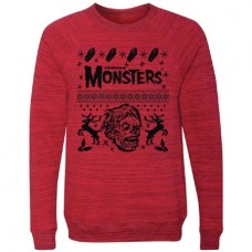 UGLY CHRISTMAS SWEATER RED LG