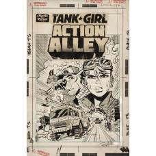 TANK GIRL ACTION ALLEY #1 CVR D PARSON ARTIST ED