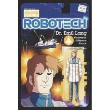 ROBOTECH #15 CVR B ACTION FIGURE VARIANT