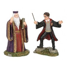 HP VILLAGE HARRY AND THE HEADMASTER FIGURE